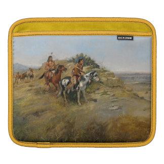 Chasse de Buffalo, 1891 (huile sur la toile) Housses iPad