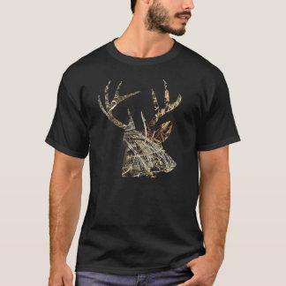 Chasse de cerfs communs - T-shirt principal de