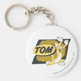 Chasse de Tom Porte-clé Rond