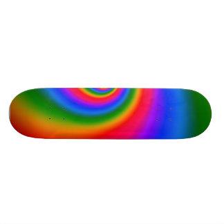 Chasse du conseil d arc-en-ciel plateau de skate