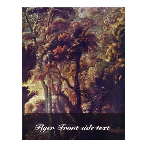 Chasse du détail d'Atalante par Rubens Peter Paul Tract Customisé