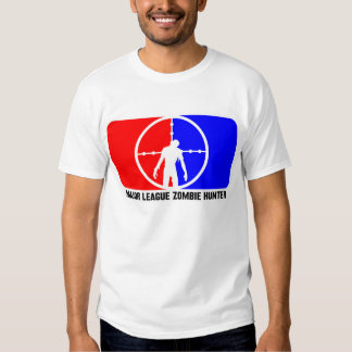Chasseur 1 de zombi de ligue t-shirt