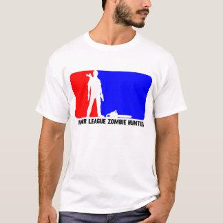 Chasseur 2 de zombi de ligue t-shirt