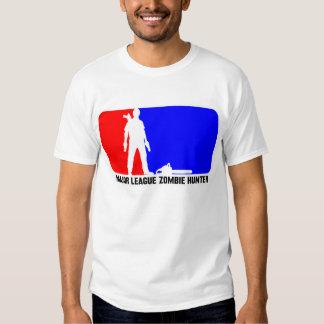 Chasseur 2 de zombi de ligue t-shirts