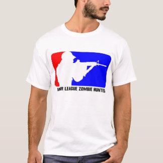 Chasseur 3 de zombi de ligue t-shirt