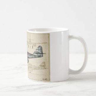 Chasseur à réaction Me262 Mug