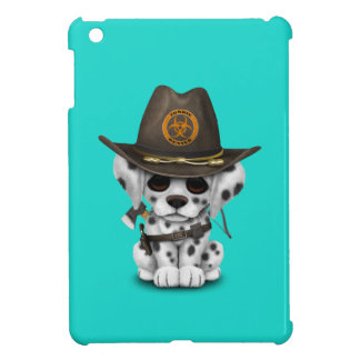 Chasseur dalmatien mignon de zombi de chiot coques iPad mini