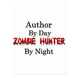 Chasseur d'auteur/zombi cartes postales