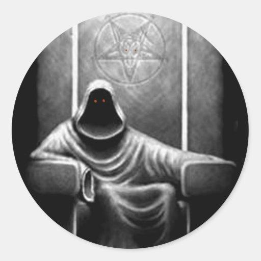 Chasseur de démon adhésif rond