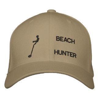 Chasseur de plage casquette brodée