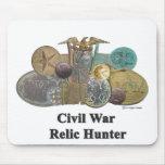 Chasseur de relique de guerre civile tapis de souris
