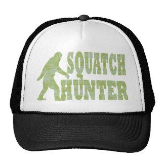 Chasseur de Squatch sur le camouflage Casquettes De Camionneur