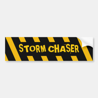 Chasseur de tempête autocollant pour voiture