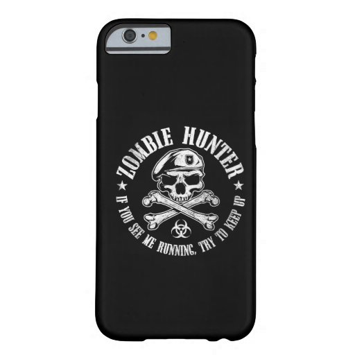 chasseur de zombi coque iPhone 6 barely there