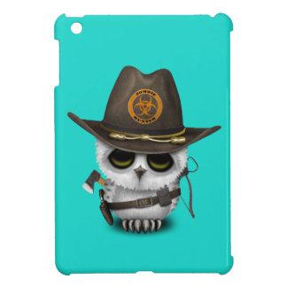 Chasseur de zombi de hibou de bébé étui iPad mini