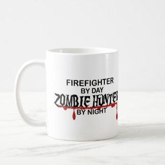Chasseur de zombi de sapeur-pompier mug