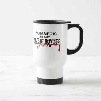 Chasseur de zombi d'infirmier mug de voyage