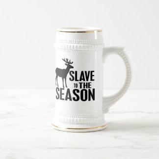 Chasseur drôle de cerfs communs tasses à café
