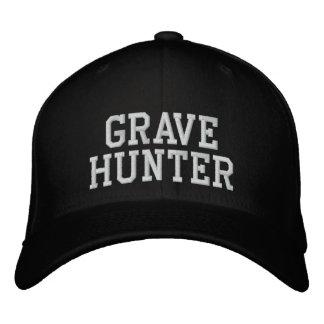 Chasseur grave casquette brodée
