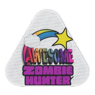 Chasseur impressionnant de zombi d arc-en-ciel haut-parleur bluetooth