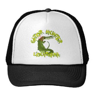 Chasseur Louisiane d'alligator Casquettes De Camionneur