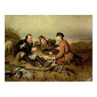 Chasseurs, 1816 carte postale