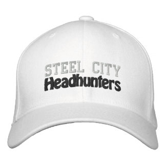 Chasseurs de têtes en acier de ville casquette brodée