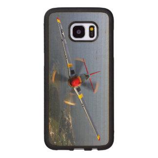 Chasseurs du mustang P-51 Coque En Bois Galaxy S7 Edge