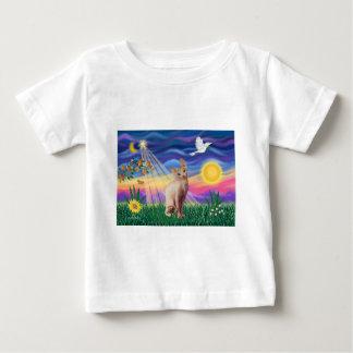 Chat 1 de Sphynx - crépuscule T-shirts