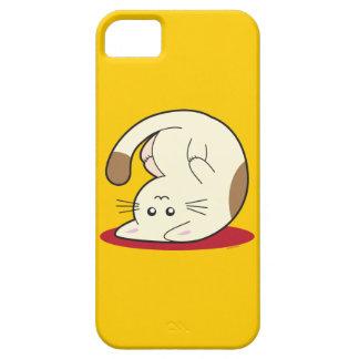 Chat à l'envers étui iPhone 5