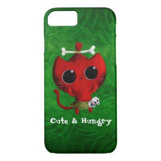 Chat adorable de Halloween de cannibale Coque iPhone 7