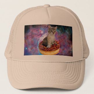 Chat-animal-félin espace-Kitty-mignon de chat-chat Casquette