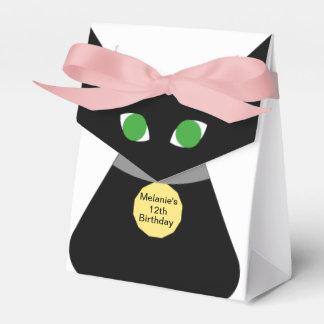 Chat aux yeux verts noir ballotins