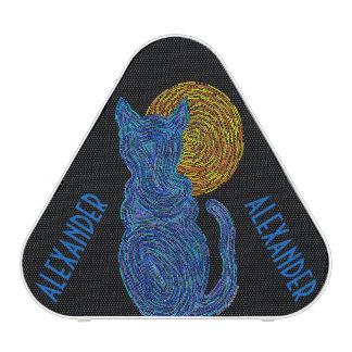 Chat bleu et la coutume féline d'amoureux des
