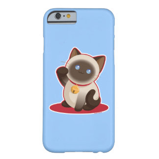 Chat chanceux de Kawaii Coque iPhone 6 Barely There
