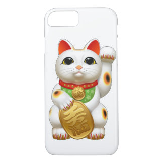 chat chanceux de maneki-neko coque iPhone 7