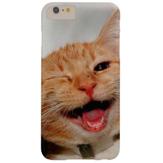 Chat clignant de l'oeil - chat orange - les chats coque iPhone 6 plus barely there
