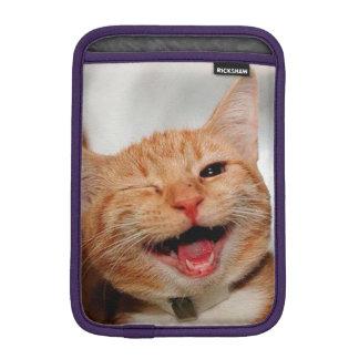 Chat clignant de l'oeil - chat orange - les chats housse iPad mini