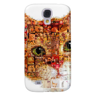 Chat - collage de chat coque galaxy s4