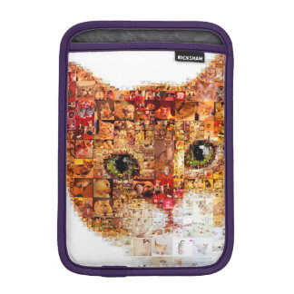 Chat - collage de chat housse iPad mini
