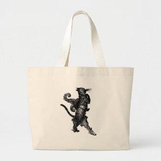 chat dans les bottes sac