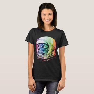 Chat d'astronaute et T-shirt drôles de chat de