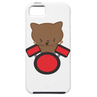 Chat de batteur de Kawaii Coques iPhone 5 Case-Mate