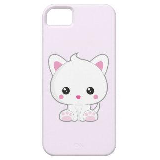 Chat de blanc de Kawaii Coques Case-Mate iPhone 5
