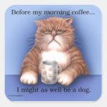Chat de café