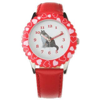 Chat de calicot montres bracelet