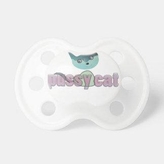 chat de chat tétine