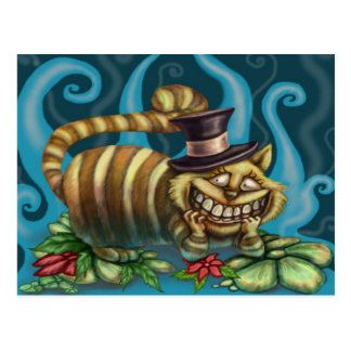 Chat de Cheshire Cartes Postales