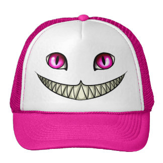 Chat de Cheshire Casquette Trucker