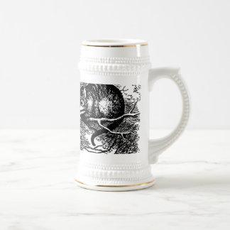 Chat de Cheshire Stein Alice au pays des Chope À Bière